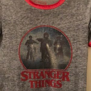 Tops - Women's Stranger Things Ringer Tee Size Small